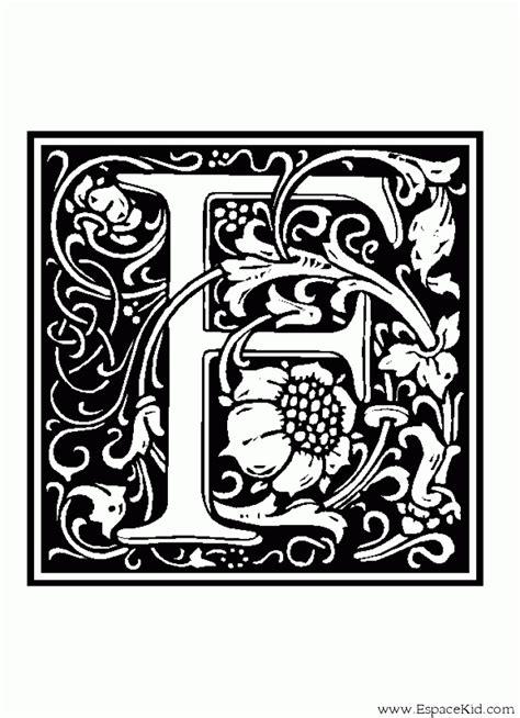 Coloriage Lettre F 224 Imprimer Dans Les Coloriages Lettrine Coloriage Lettre T Coloriages Lettrine L