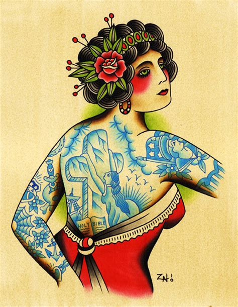 tattoo paintings by zach nelligan senses lost