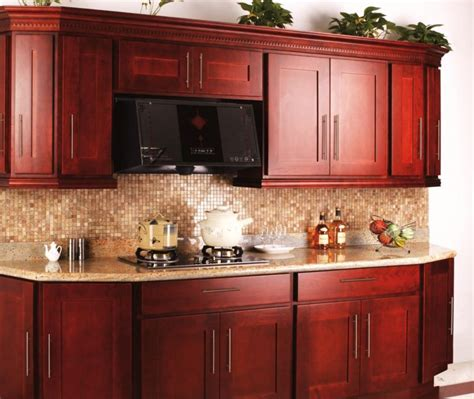 cherry red kitchen cabinets cherry kitchen cabinets designs colors ideas decor craze