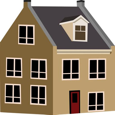 house clip art free village house clip art