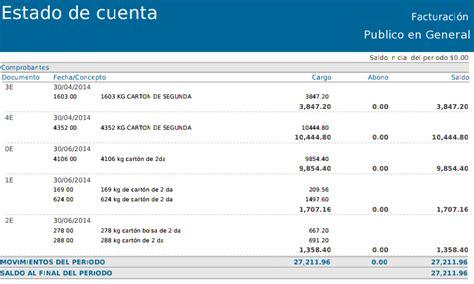 www coppel com mx estado de cuenta factura electronica estado de cuenta de clientes