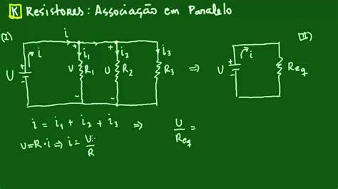 resistor formula fisica resistores associa 231 227 o em paralelo eletrodin 226 mica f 237 sica
