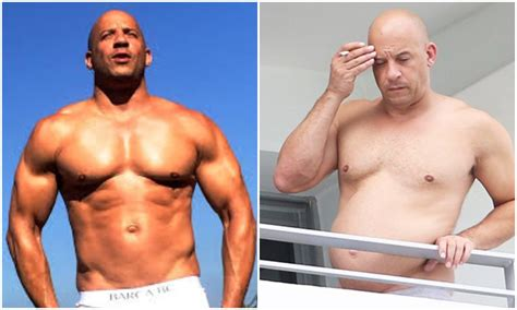 does vin diesel have tattoos vin diesel with hair and bod how is