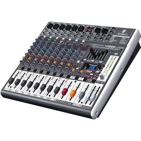 Mixer Behringer X1222usb behringer xenyx x1222usb 16 input 2 2 mixer w fx usb