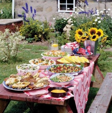 Barbecue Party Decorations Ideas Backyard Bbq Outdoor Backyard Bbq Reception Ideas