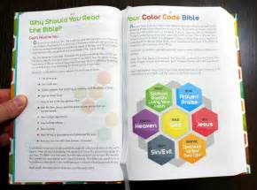 what does the color blue in the bible the color code bible for book review