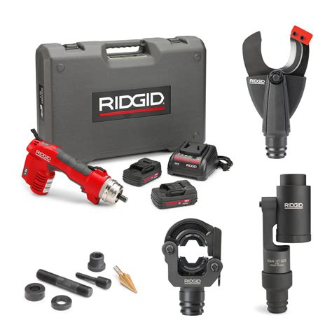 punch home design power tools ridgid 56508 re 6 electrical tool cut crimp punch kit