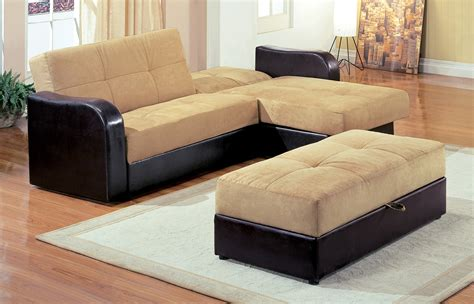 l shaped sofa pull out bed furniture large l shaped brown leather sofa with pull out