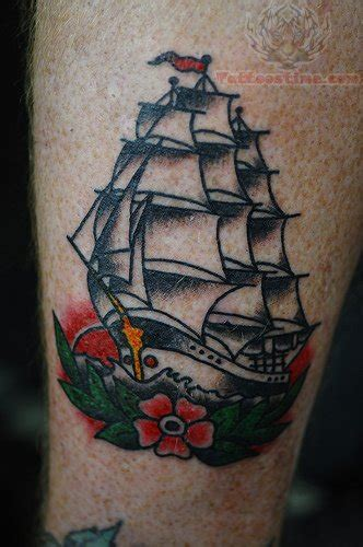 traditional pirate ship tattoo traditional images designs