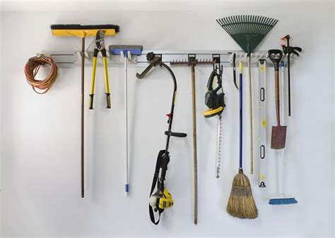 Hang Garden Tools In Garage by 5 Tips Organize Garage Space Quickly