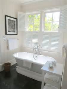 bathroom plantation shutters cottage bathroom
