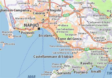 torre greco mappa torre greco cartina torre greco viamichelin