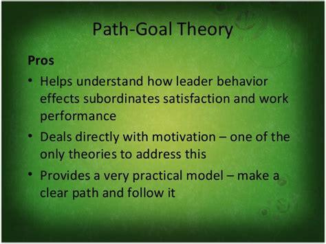 contingency pathgoaltheories