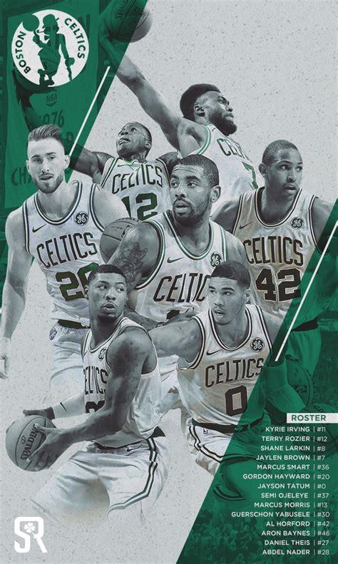 Kaos Nba 2017 2018 Boston Celtics celtics wallpaper kyrie impremedia net