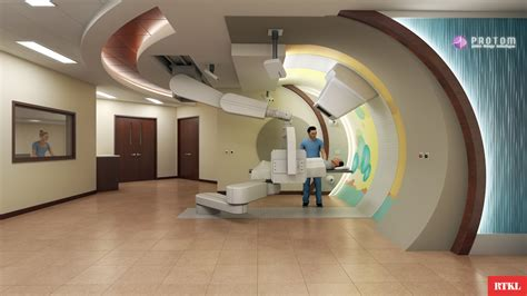 Proton Radiation Locations by Protom Radiance 330 Proton Therapy Model Information