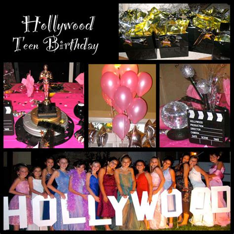 themes for teenage girl parties oscar party theme design dazzle