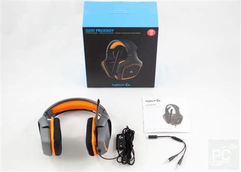 Logitech G231 Prodigy Gaming Headset Terjamin logitech prodigy g231 gaming headset review pc perspective