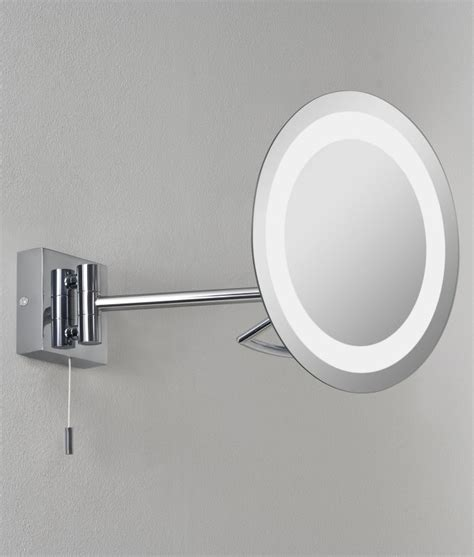 illuminated bathroom mirrors uk vanity illuminated adjustable mirror for bathrooms