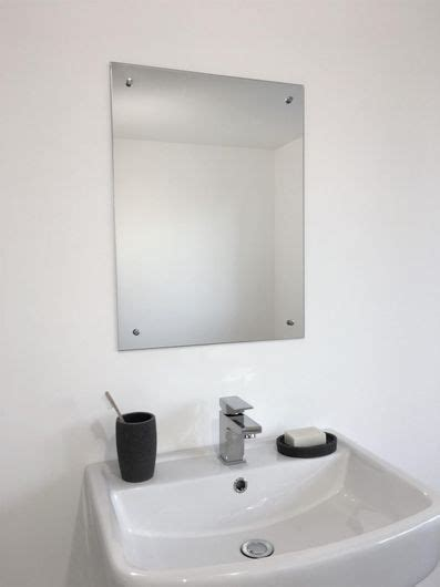 bathroom mirror fixings frameless unframed bathroom mirror with pre drilled holes
