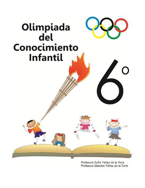 olimpiada del conocimiento infantil en construccin material libros de primaria mx