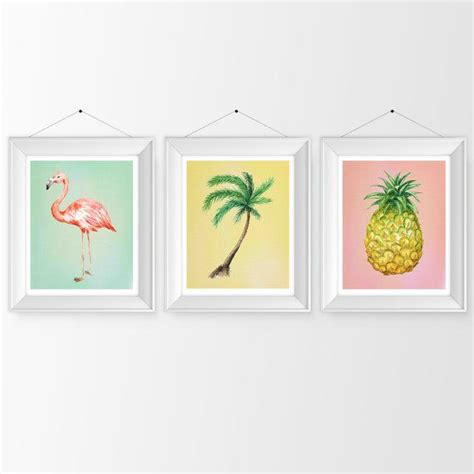 Wall Decor Printed Poster Flamingo 22 best images about palm tree on beaches