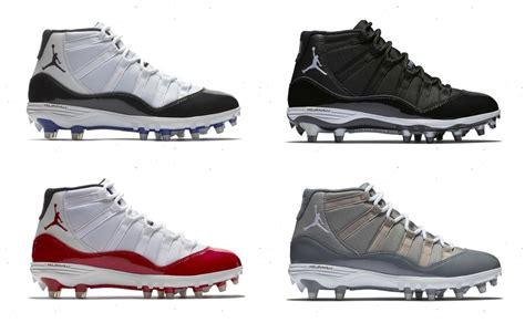 retro football shoes restock air 11 retro td football cleats sneaker
