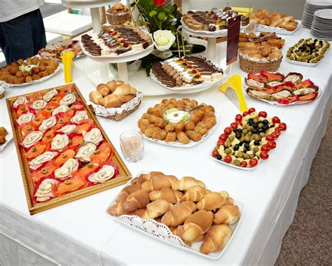 table snack cuisine prepare for your big day bissell uk