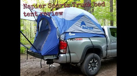 tacoma bed tent napier sportz truck bed tent review on a 2017 tacoma long