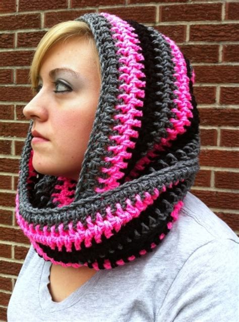 crochet pattern hooded infinity scarf scoodie infinity scarfs hooded scarf pattern and crochet
