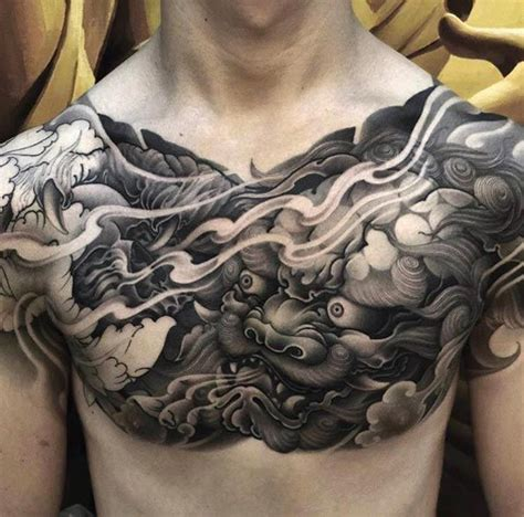 japanese chest tattoos for men 80 ridiculously cool tattoos for chest