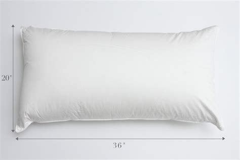 pillow sizes standard or king au lit
