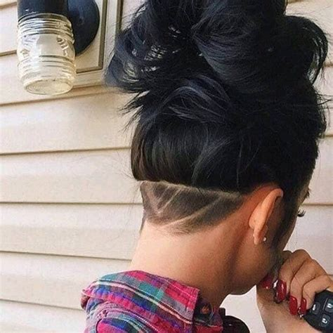 nape hair images on women 20 stunning nape undercuts for women hairstylec