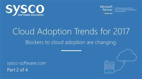 adoption of cloud based technologies for smart home azure cloud adoption trends for 2017 part 2 of 4 sysco
