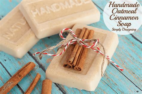 Handmade Soap Gifts - handmade oatmeal cinnamon soap