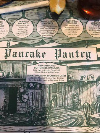 pancake pantry gatlinburg menu prices restaurant