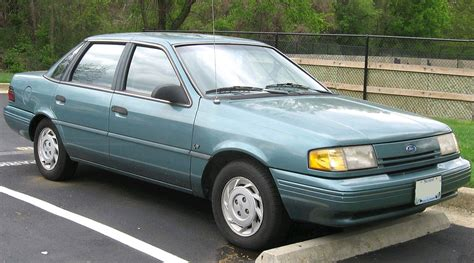 manual cars for sale 1991 mercury topaz regenerative braking ford tempo copro