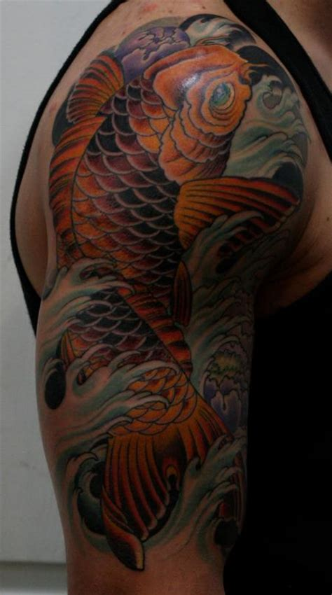 traditional koi fish tattoo designs junkies studio tattoos traditional japanese