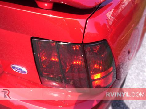 2004 mustang tail lights rtint 174 ford mustang 1999 2004 tail light tint film