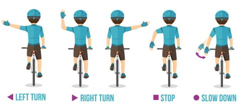 bike hand signals davis law firm