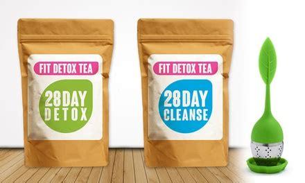 Groupon Detox by Detox Tea Pack Groupon Goods