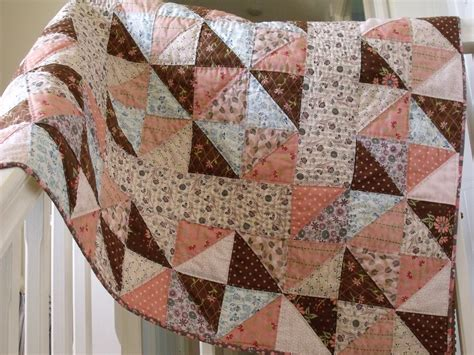 Crib Quilts Patterns by Handmade Baby Patchwork Quilt Crib Childs By Aliceandflorence