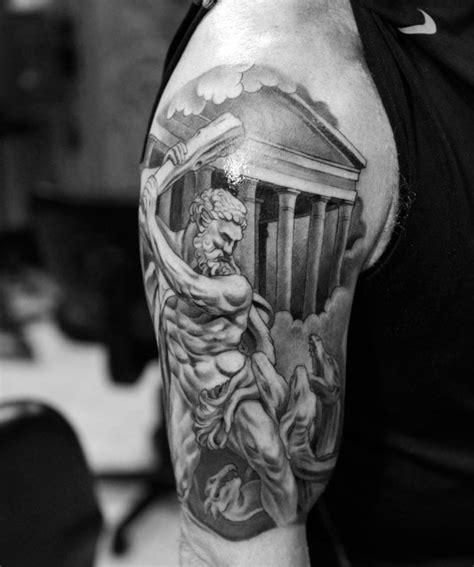 tattoo arm god greek mythology tattoos design for men tattoosera