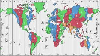 interactive world time zone map