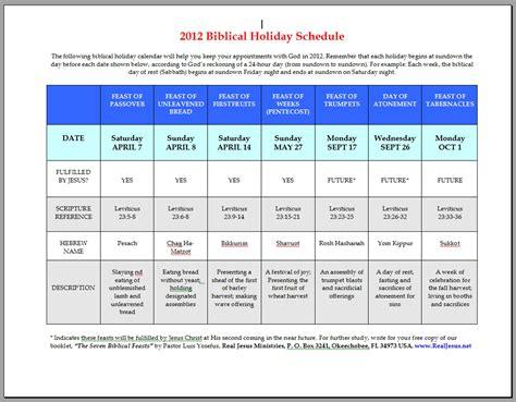Biblical Calendar Biblical Holidays Calendar Template 2016