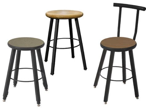 Fixed Bar Stools by Fixed Height Square Stool Modern Bar Stools And