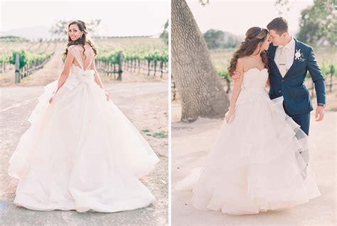 imagenes de vestidos de novia con olanes vestidos de novia estilo princesa con pedreria