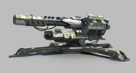 Of Robots Heavy Gun Barrel Ng 4 sci fi cannons sci fi sci