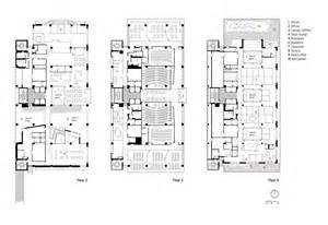Floor Plan Of Building by Of Nursing And Student Community Center