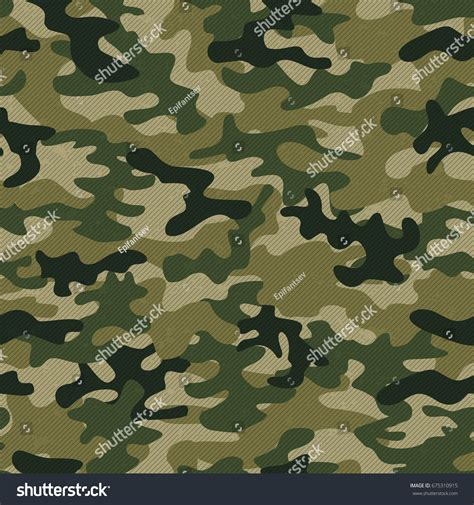 seamless army pattern military camo seamless pattern vector background stock