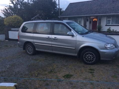 Kia Sedona 2005 Price 2005 Kia Sedona For Sale In New Ross Wexford From Bounty